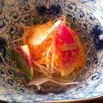 いちりん - 有機野菜のサラダが美味い