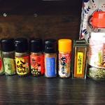 宝そば - 七味の種類がたくさん!
