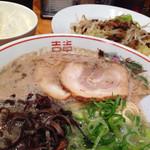 博多だるまネクスト - 料理写真:肉野菜炒め定食(850円)