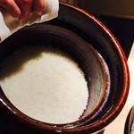 紀風 - 土鍋炊きのご飯