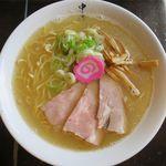 麺 風来堂 - 中華そば塩のアップ
