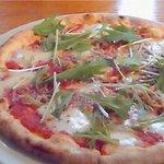 ピッツェリアSakai - 水菜とじゃこのピザ