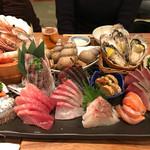 神楽坂 魚金 - お刺身特盛り(4~5人分)