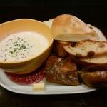 樹良 - 「樹良のパンとスープのセット」