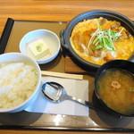 やよい軒 - 料理写真:ミックスとじ定食 780円