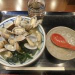 丸亀製麺 - あさりうどん¥590-