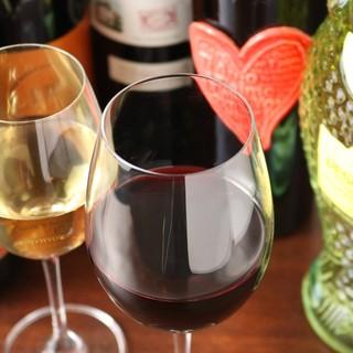 シェフこだわりのイタリアワイン