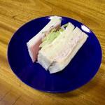 LULU - ツナハム野菜サンド(185円+税)