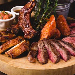 肉料理5種が1皿で楽しめる「Butcher'sPlate」!