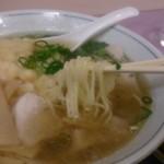 めん処 みやち - 天ぷら中華の麺