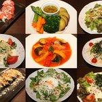 酒喰楽 - お肉以外に野菜料理も充実しております!