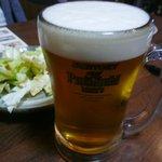赤垣屋 - 料理写真:生ビールはプレミアムモルツ