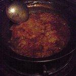 五番蔵 - トマト鍋の後のチーズ雑炊(+500円)