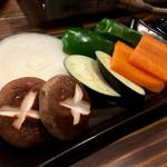 焼肉 まるえん - 焼き野菜