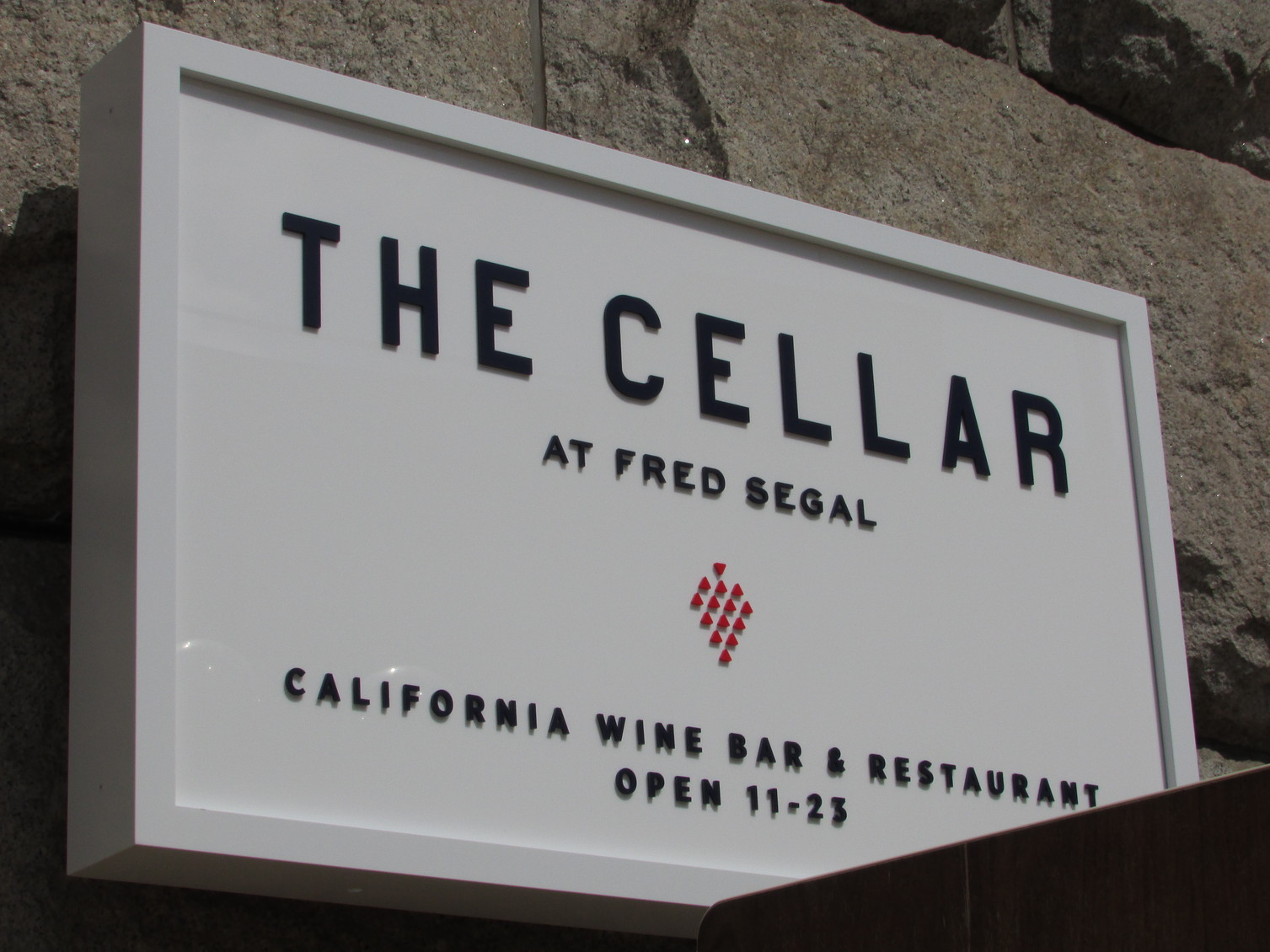 THE CELLAR AT FRED SEGAL