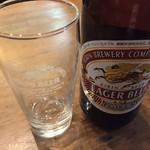 ラーメン海鳴 - キリンの瓶ビール