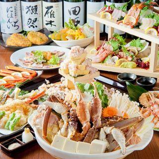 【幹事様必見】ご宴会コース☆名物刺身&飲み放題付3980円~