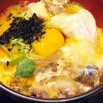 64074160 - 秋田県比内地鶏とフォアグラの親子丼~烏骨鶏の卵黄~ \1998