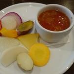 イル・チェント平野町 - こだわり有機野菜、ミネストローネにも野菜たっぷり