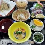 よしだ会館 - 2016/12/27 関さば定食2468円