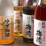 太田精肉店 - 梅酒各種
