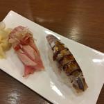 いろは寿司 - 炙り大トロ 蝦蛄