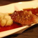 鹿児島黒毛和牛焼肉 Vache - おろしポン酢が合いますねえ