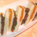カフェ カラク - 「お惣菜サンド」