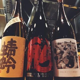 【地酒を飲み比べ】