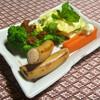 百姓屋敷 じろえむ - 料理写真:自家製鶏肉のソーセージと付け合わせ