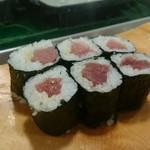 魚がし寿司 - 鉄火巻き