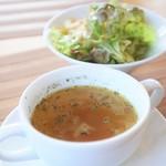 里山きさら - サラダ&スープ