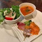 オステリア・ミラ - ランチの前菜