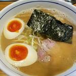 麺屋 はし本 - 味玉らー麺