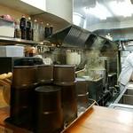 麺屋 はし本 - 厨房
