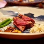 北新地 牛寶 - ヒレ肉のステーキ