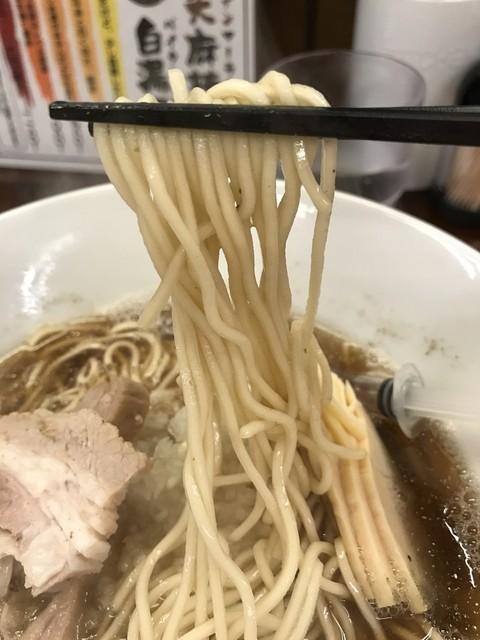 拉麺一匠 DEAD OR ALIVE - 【2017.3.9】菅野製麺の中細麵。