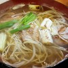 桃山 - 料理写真:鴨南蛮そば
