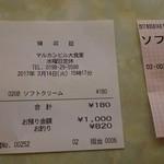 マルカンビル大食堂 - 2017.03