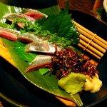 えん - 秋刀魚の刺身