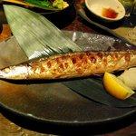 えん - 秋刀魚の塩焼き
