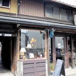 SOBA Café さらざん - 外観=17年3月