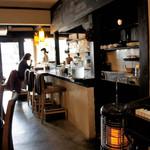 SOBA Café さらざん - 内観=17年3月