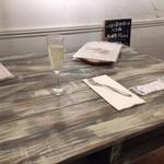 一汁三菜イタリア~の - テーブル