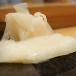 すしの菱田 - ガリ