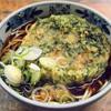 山田製麺所本店 - 料理写真:春菊天+細うどん400円