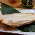 山海川料理 なるせ - このカレイの焼き物は秀逸でした