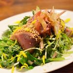 坂の上ホタル - お野菜たっぷり カツオのサラダ