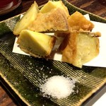 64093082 - 五郎島金時のカリカリ揚げは食べるべき一品