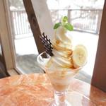 ミッシュハウス - 料理写真:3月限定キャラメルバナナパフェ